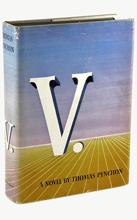 ThomasPynchon-V-firstEdition-Lippincott-1963.jpg